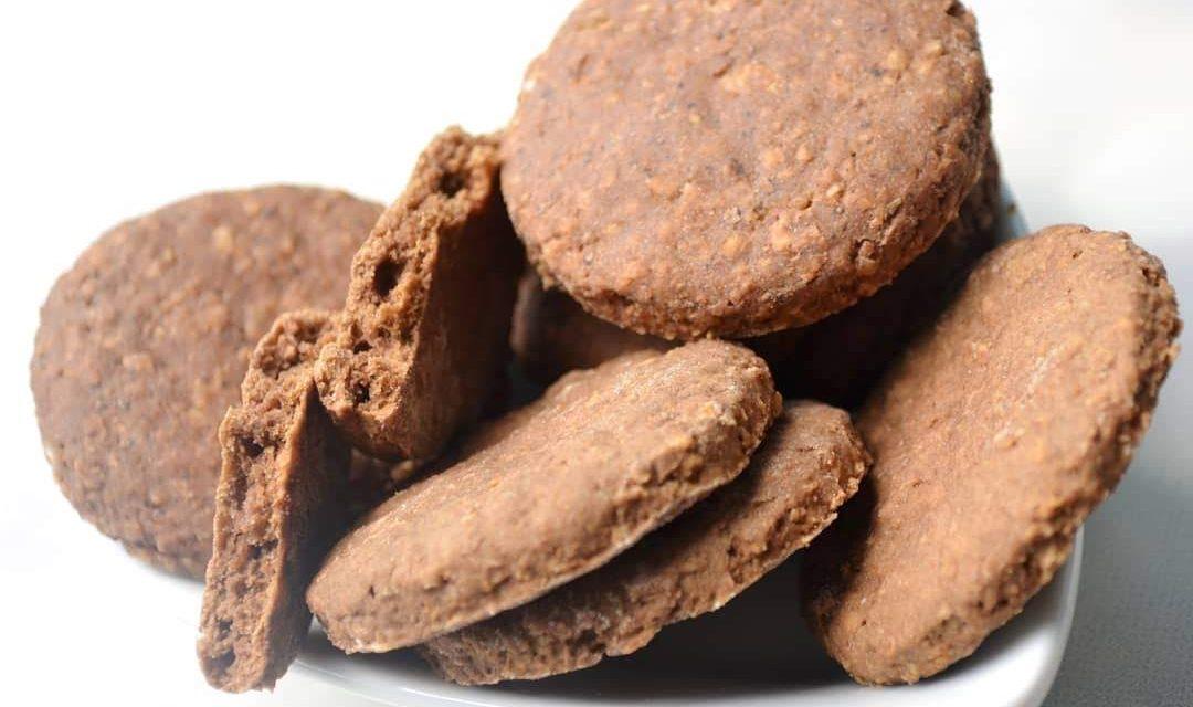 Glutenfreie Hafer-Walnuss-Kekse (glutenfrei, milchfrei, sojafrei, vegan)