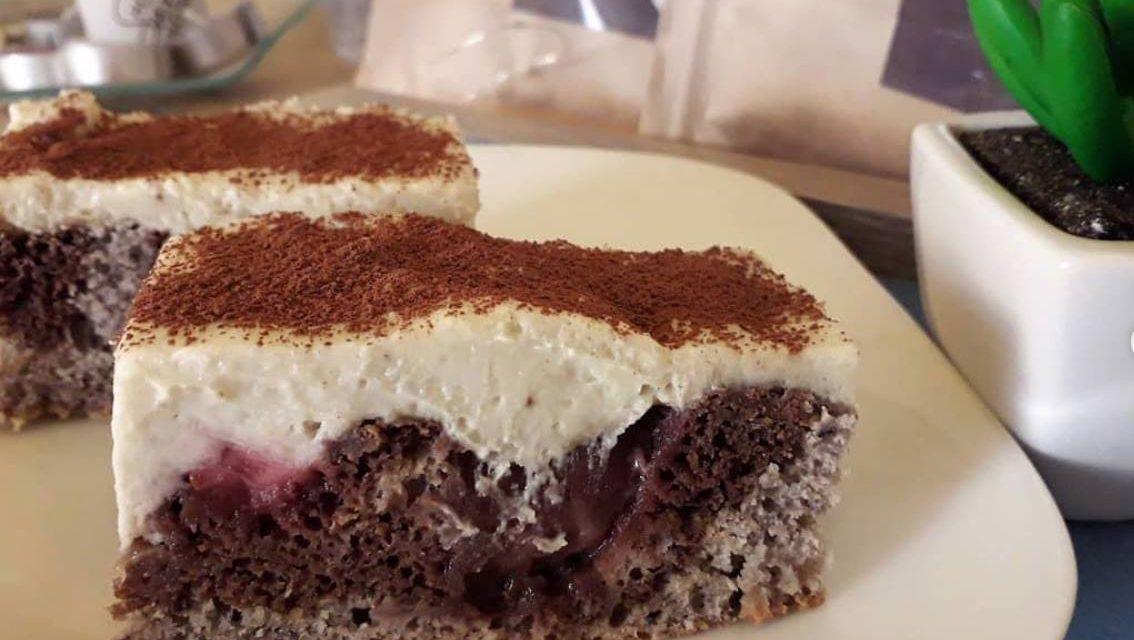 Safi Free glutenfreier Donauwellen-Kuchen (frei von Milch, Eiern, zugefügtem Zucker und vegan)