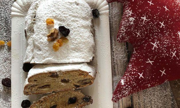 Safi Free Gluten freier Stollen (frei von Milch, Eiern, Soja und zugefügtem Zucker, vegan)