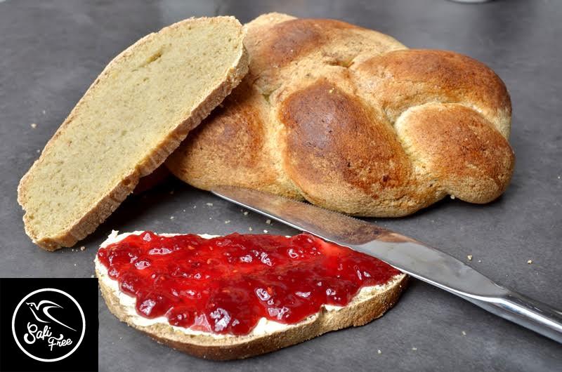 Safi Free Zopfkuchen (gluten-, milch-, eier-, soja-, hefefrei und fettarm)