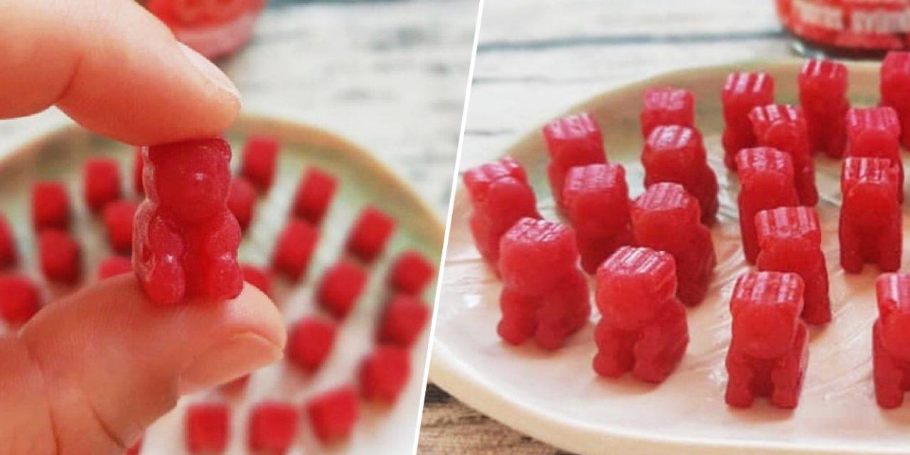 Safi Free selbstgemachte Gummibären aus Fruchtmark