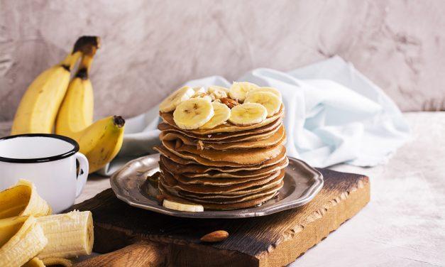 Pfannkuchen aus dem Grüne-Banane-Mehl (Paleo, milchfrei, glutenfrei, hefefrei, sojafrei)