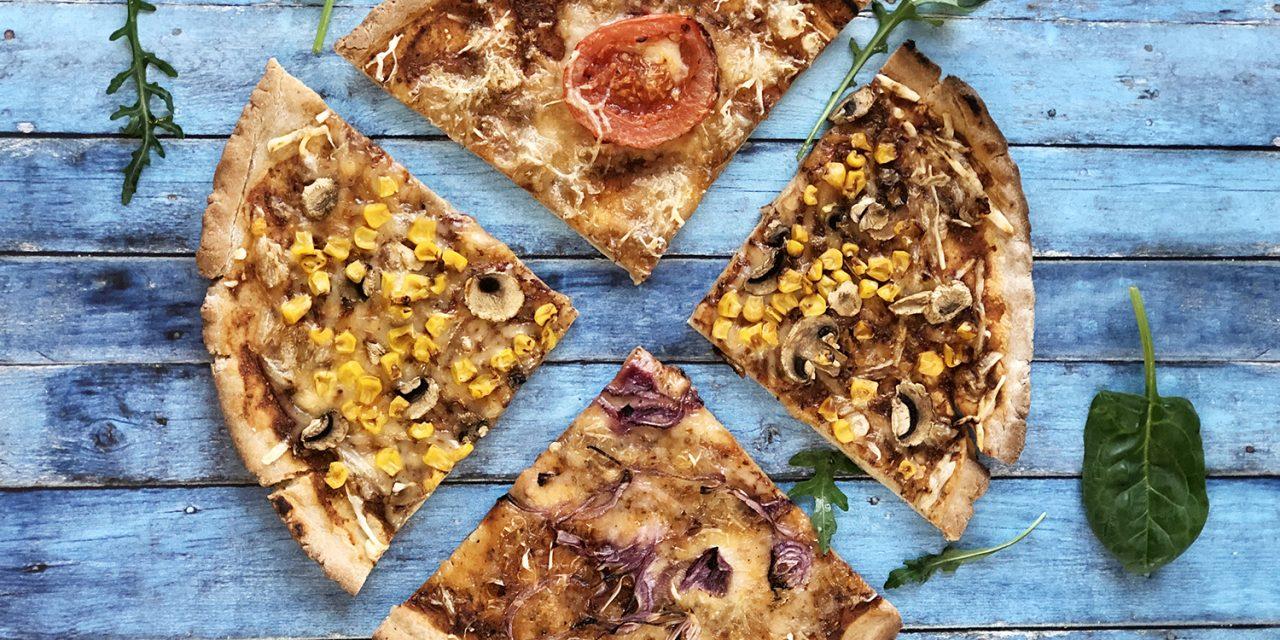 Safi Free Pfannen-Pizza (glutenfrei, milchfrei, eifrei, reduziertem Ballaststoffgehalt)