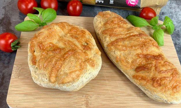 Safi Free kohlenhydratreduzierte, glutenfreie, vegane Baguettes/Brötchen