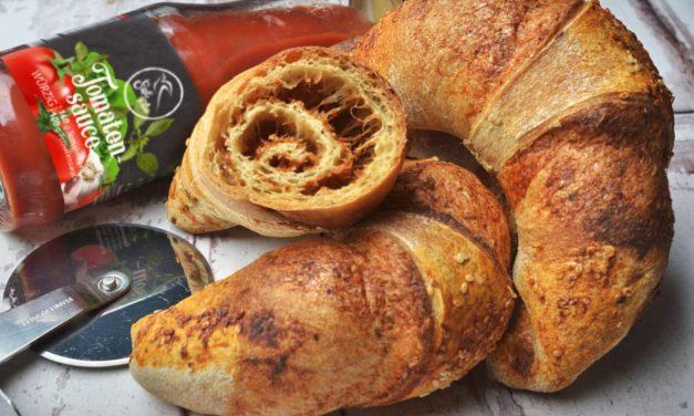 Safi Free Kohlenhydratreduzierte, glutenfreie, vegane Pizza-Hörnchen