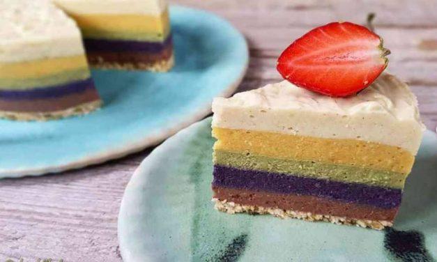 Safi Free Regenbogenkuchen ohne backen