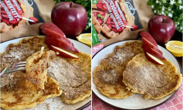 Amerikanische Apfel-Zimt-Pfannkuchen aus Safi Free Universal Mehlmischung