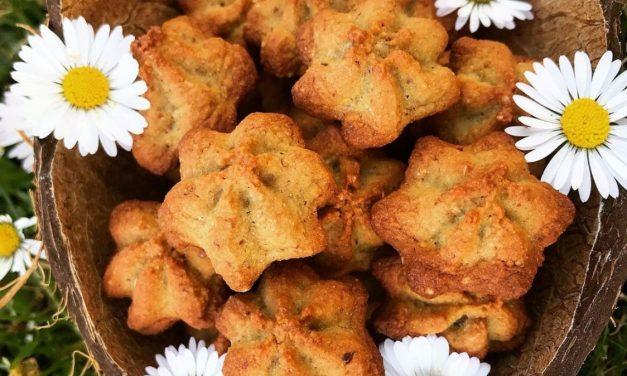 Glutenfreie Vanille-Mandel-Kekse
