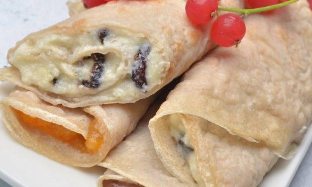 Vegane Tiramisu Creme/Pfannkuchen Füllung